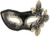 Venetian Mask with Leaves