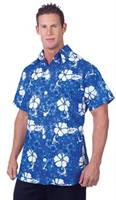 Blue Hawaiian Shirt Adult Costume