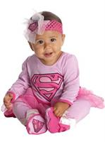 Supergirl Newborn Costume