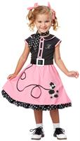 50s Poodle Cutie Toddler / Child Costume
