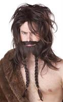 Viking Wig Brown