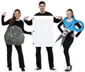 """Rock, Paper, Scissor Adult Costume """