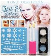 Frozen Snowflakes Tattoo Make up Kit