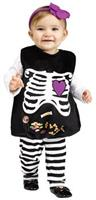 Skelly Belly Toddler Costume