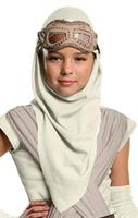 Star Wars Episode VII - Girls Rey Eye Mask With Hood