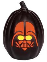 "Darth Vader 12"" Light Up Pumpkin"
