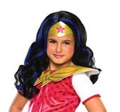 DC Superhero Girls: Wonder Woman Child Wig
