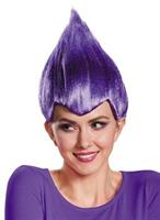 Purple Troll Adult Wig
