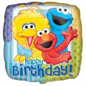 Sesame Street Party Foil Balloon 18""