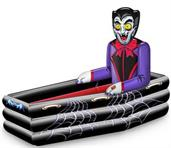 Halloween Inflatable Dracula Coffin Cooler