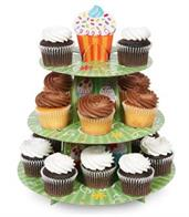 "Cupcake Party Cupcake Stand 12"" high x 10"" wide"