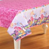 "My Little Pony Friendship Magic Paper Tablecover 54"" high x 96"" wide"