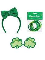 St. Patrick's Day Sunglasses and Headband Bundle