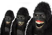 Goin' Ape Ani-Motion Adult Mask