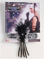 20s Deluxe Flapper Headband - Silver