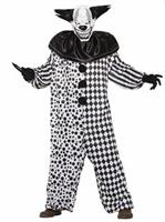 Evil Al The Clown Adult Costume