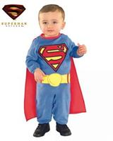 Superman Toddler Romper Costume