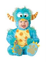 Infant Lil Monster Blue Infant Costume 0-6M