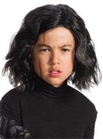 Star Wars Episode VIII - The Last Jedi Kids Kylo Ren Wig with Scar Tattoo