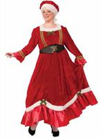 Mrs. Claus Traditional Adult Dress