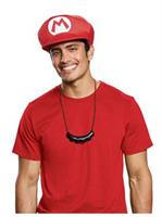 Super Mario Bros. Mario Hat & Mustache Necklace Kit