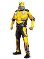 Transformers Bumblebee Movie Bumblebee Classic Muscle Adult Costume