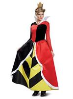 Disney Villains Queen Of Hearts Deluxe Adult Costume
