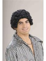 Disco Short Afro Adult Wig