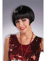 Black Charleston Chic Adult Wig
