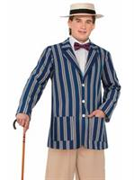 Mens Roaring 20's Boater Jacket