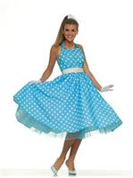 Womens 50's Prom Dress Costume
