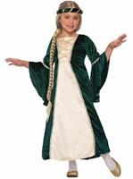 Girls Lady Of Sherwood Costume
