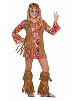 Girls Peace Lovin Hippie Costume