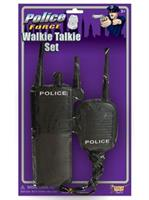 Police Walkie Talkie Set
