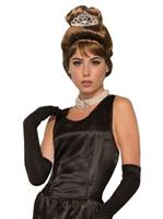Breakfast At Tiffanys Holly Golightly Wig And Tiara Set