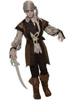 Boys Zombie Pirate Boy Costume