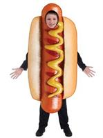 Kids Sublimation Hot Dog Costume Costume