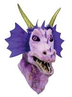 Moving Jaw Purple Dragon Mask