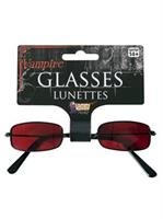 Red Vampire Glasses