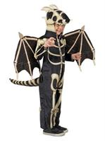 Boys Dragon Skeleton Costume