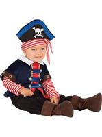 Baby Pirate Boy Costume