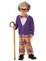 Boys Little Old Man Costume