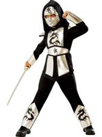 Boys Silver Dragon Ninja Costume