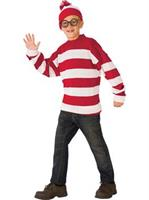 Where's Waldo Deluxe Child Costume