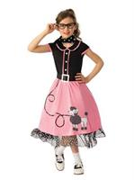 Girls 50s Sweetheart Costume
