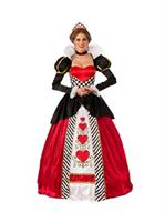 Elite Queen Of Hearts Adult Costume