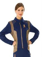 Star Trek Discovery Womens Copper Operations Uniform Costume