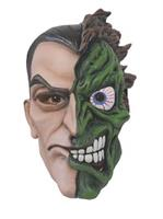 2 Face Overhead Latex Mask