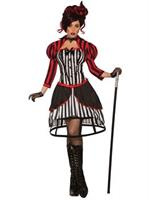 Womens Mystery Circus Madame Costume