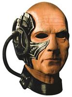 Star Trek Mens Locutus Overhead Latex Mask